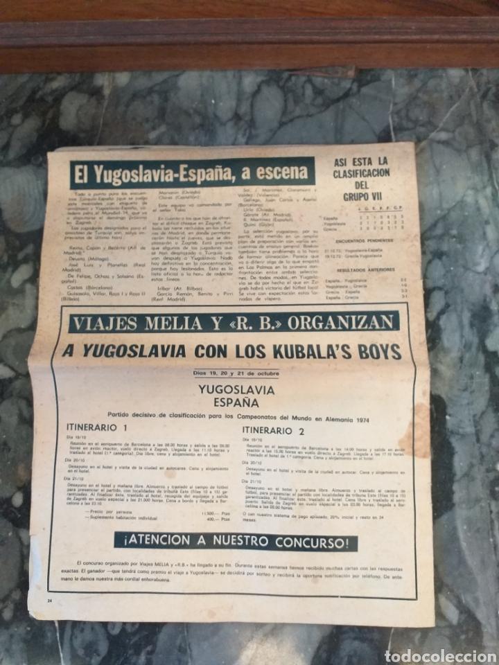 Coleccionismo deportivo: R.B. Revista Barcelonista número 446. 1973 - Foto 4 - 228743990