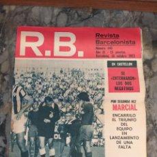 Coleccionismo deportivo: R.B. REVISTA BARCELONISTA NÚMERO 446. 1973. Lote 228743990