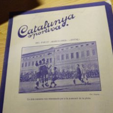Coleccionismo deportivo: REVISTA FUTBOL CATALUNYA SPORTIVA Nº 223 30 MARZO 1921 EN PORTADA AVENÇ DEL SPORT -BARCELONA. Lote 240144110