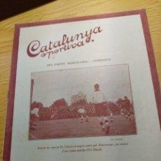 Coleccionismo deportivo: REVISTA FUTBOL CATALUNYA SPORTIVA Nº 234 14 JUNIO 1921 EN PORTADA BARCELONA - TERRASSA. Lote 240145265