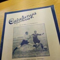 Coleccionismo deportivo: REVISTA FUTBOL CATALUNYA SPORTIVA Nº 239 19 JULIO 1921 EN PORTADA BERLINER DECKUNG NURNBERGER. Lote 240145850