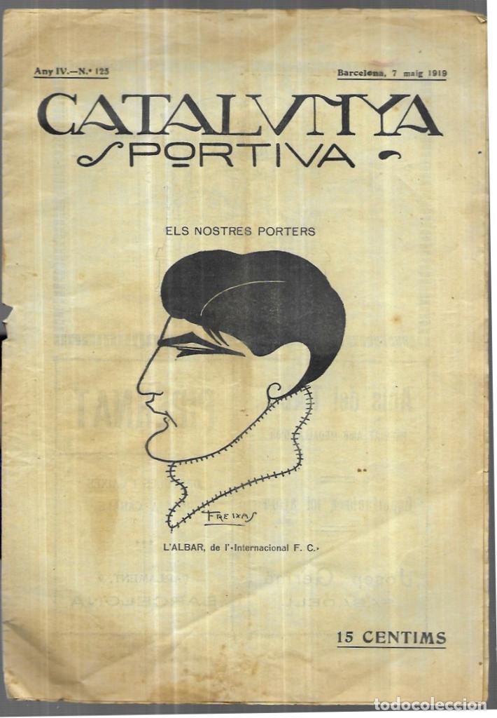 CATALUNYA SPORTIVA - Nº 125 - MAIG 1919 (Coleccionismo Deportivo - Revistas y Periódicos - Catalunya Sportiva)