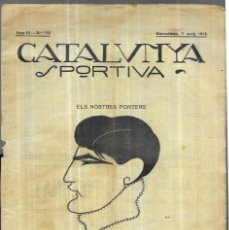 Coleccionismo deportivo: CATALUNYA SPORTIVA - Nº 125 - MAIG 1919. Lote 249498545