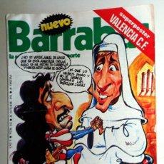 Coleccionismo deportivo: REVISTA BARRABÁS Nº212 OCTUBRE 1976. PÓSTER VALENCIA CF. DEPORTES FÚTBOL - HUMOR - CHICAS - SATÍRICA. Lote 272421623
