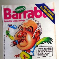Coleccionismo deportivo: REVISTA BARRABÁS Nº211 OCTUBRE 1976. PÓSTER FC BARCELONA CRUYFF - DEPORTES FÚTBOL - HUMOR SATÍRICA. Lote 272421763