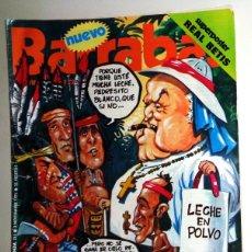 Coleccionismo deportivo: REVISTA BARRABÁS Nº213 NOVIEMBRE 1976. PÓSTER REAL BETIS - DEPORTES FÚTBOL - HUMOR SATÍRICA. Lote 272422003