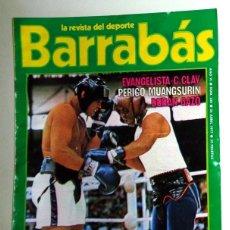 Coleccionismo deportivo: REVISTA BARRABÁS Nº238 ABRIL 1977. PÓSTER JAMES HUNT FORMULA UNO F1. FÚTBOL. BOXEO PERICO. HUMOR. Lote 272424118