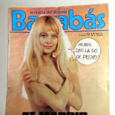 Coleccionismo deportivo: REVISTA BARRABÁS Nº241 MAYO 1977. PÓSTER ZANINI RALLY RALLYES. FÚTBOL. HUMOR - SATÍRICA. CHICAS. Lote 272424713