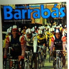 Coleccionismo deportivo: REVISTA BARRABÁS Nº239 MAYO 1977. PÓSTER RUGBY ESPAÑA RUMANIA. FÚTBOL. HUMOR - SATÍRICA. CHICAS. Lote 272425143