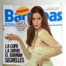 Coleccionismo deportivo: REVISTA BARRABÁS Nº195 JUNIO 1976. PÓSTER COPA ATLÉTICO MADRID REAL ZARAGOZA FÚTBOL. HUMOR SATÍRICA.. Lote 272425378