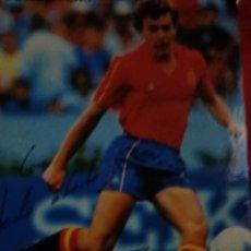 Coleccionismo deportivo: ANTIGUA TARJETA PERSONAL DE BUTRAGUEÑO FIRMADA MANUSCRITA. Lote 294103928