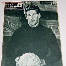 Sports collectibles - ANTIGUA REVISTA DEL REAL MADRID Nº 87 - OCTUBRE 1957 - FUTBOL - DEPORTE - 830099