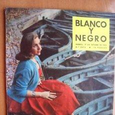 Coleccionismo deportivo: BLANCO Y NEGRO Nº 2476 - 17 OCTUBRE 1959 - SATÉLITE LUNIK III - CLARK GABLE - LOS HERMANOS FOSSORES. Lote 22208435