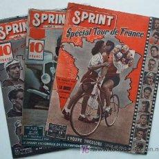Coleccionismo deportivo: 3 REVISTAS DE CICLISMO SPRINT - AÑO 1948. Lote 26887206