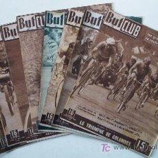 Coleccionismo deportivo: 8 REVISTAS CICLISMO BUTCLUB - AÑOS 40. Lote 26660196