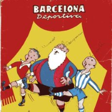 Coleccionismo deportivo: BARCELONA DEPORTIVA, ALMANAQUE 1950. Lote 5134853
