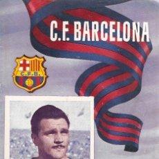 Coleccionismo deportivo: PROGRAMA PARTIDO C.F.BARCELONA - CELTA 1955. Lote 5362692
