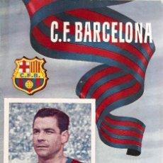 Coleccionismo deportivo: PROGRAMA PARTIDO C.F.BARCELONA - R.C.D. ESPAÑOL 1954. Lote 5362697