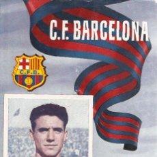 Coleccionismo deportivo: PROGRAMA PARTIDO C.F.BARCELONA - R.C.D.CORUÑA 1954. Lote 5362702