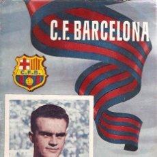 Coleccionismo deportivo: PROGRAMA PARTIDO C.F.BARCELONA - AT. MADRID 1954. Lote 5362768