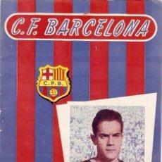 Coleccionismo deportivo: PROGRAMA PARTIDO C.F.BARCELONA - LAS PALMAS 1957. Lote 5362800