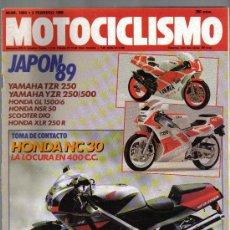 Coleccionismo deportivo: MOTOCICLISMO - LOTE DE 3 REVISTAS . Lote 23956341