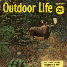 Coleccionismo deportivo: REVISTA DE CAZA Y PESCA OUTDOOR LIFE - OCTOBER 1954 - EN INGLES. Lote 10884287