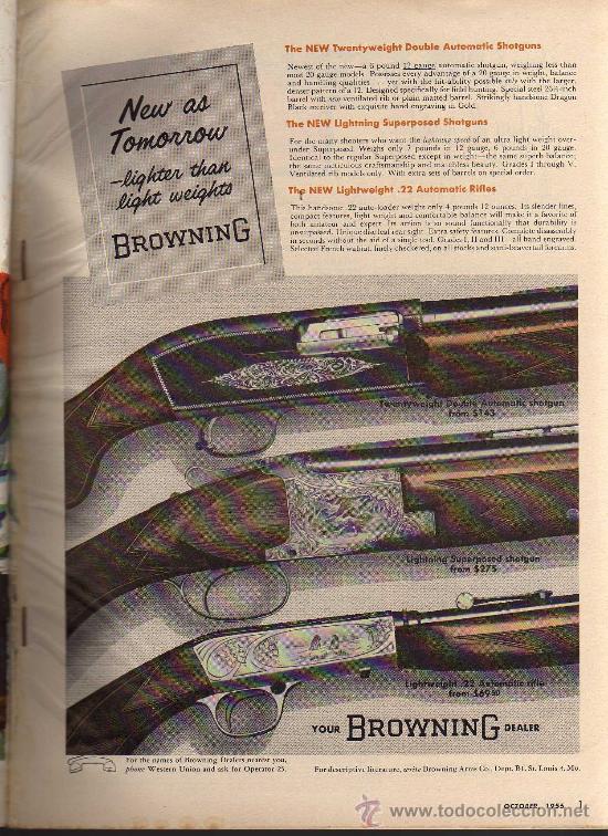Coleccionismo deportivo: REVISTA DE CAZA Y PESCA OUTDOOR LIFE - OCTOBER 1956 - EN INGLES - Foto 4 - 10884289