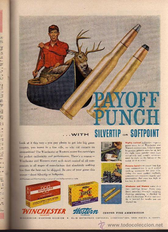 Coleccionismo deportivo: REVISTA DE CAZA Y PESCA OUTDOOR LIFE - OCTOBER 1956 - EN INGLES - Foto 6 - 10884289