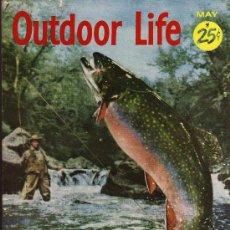 Coleccionismo deportivo: REVISTA DE CAZA Y PESCA OUTDOOR LIFE - MAY 1956 - EN INGLES. Lote 10884291