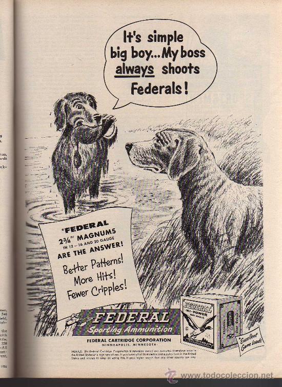 Coleccionismo deportivo: REVISTA DE CAZA Y PESCA SPORTS AFIELD - NOVEMBER 1956 - EN INGLES - Foto 6 - 10884292