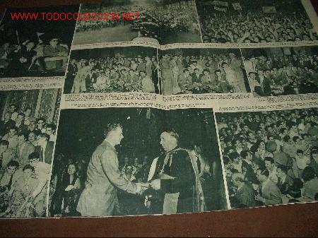 Coleccionismo deportivo: REVISTA HOLA -BARÇA- AÑO 1952 - Foto 2 - 2615082