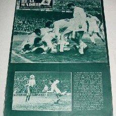 Coleccionismo deportivo - ANTIGUA REVISTA DEL REAL MADRID - FUTBOL - FEBRERO 1967 - Nº 201 - 31 PAG. - MIDE 31,5X22 CMS - MUCH - 2953498