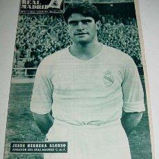 Coleccionismo deportivo - ANTIGUA REVISTA DEL REAL MADRID - FUTBOL - DICIEMBRE 1958 - Nº 101- 31 PAG. - MIDE 31,5X22 CMS - MUC - 2953511
