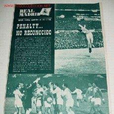 Coleccionismo deportivo - ANTIGUA REVISTA DEL REAL MADRID - FUTBOL - MARZO 1965 - Nº 178 - 31 PAG. - MIDE 31,5X22 CMS - MUCHAS - 2953514