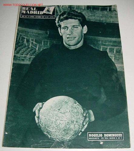 ANTIGUA REVISTA DEL REAL MADRID - FUTBOL - OCTUBRE 1957 - Nº 87 - 31 PAG. - MIDE 31,5X22 CMS - MUCHA (Coleccionismo Deportivo - Revistas y Periódicos - otros Deportes)