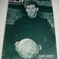 Sports collectibles - ANTIGUA REVISTA DEL REAL MADRID - FUTBOL - OCTUBRE 1957 - Nº 87 - 31 PAG. - MIDE 31,5X22 CMS - MUCHA - 54114870