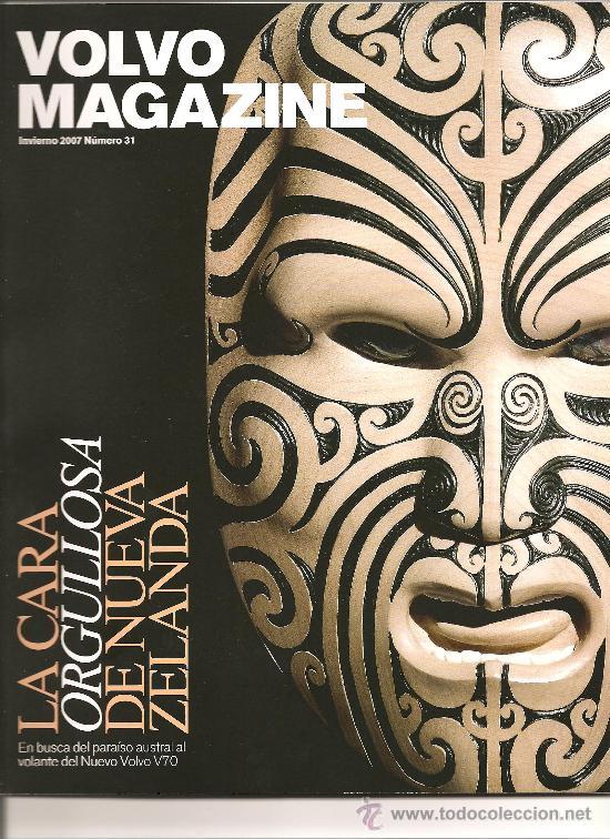 110. VOLVO MAGAZINE.INVIERNO 2007.NUMERO 31 (Coleccionismo Deportivo - Revistas y Periódicos - otros Deportes)