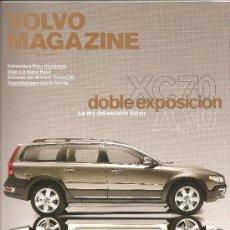 Coleccionismo deportivo: 108. VOLVO MAGAZINE Nº 29. PRIMAVERA 2007. Lote 11155338