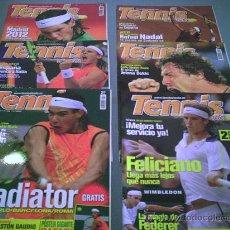 Coleccionismo deportivo: 6 REVISTAS TENIS A FONDO DEL AÑO 2005.¡¡¡ENVIO GRATIS ESPAÑA!!!. Lote 27572143