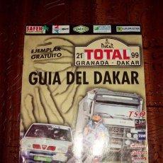 Coleccionismo deportivo: GUÍA DEL 21 GRANADA - DAKAR 99. Lote 148113096