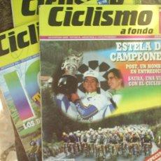 Coleccionismo deportivo: REVISTAS - CICLISMO A FONDO 1991 NUMERO 72. Lote 21686802