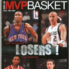 Coleccionismo deportivo: REVISTA NVP BASKET Nº 122 MAI 2008. Lote 24044762