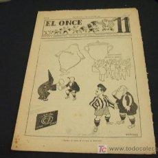 Coleccionismo deportivo: EL ONCE - AÑO III - NUM. 128 - 2 JULIO 1947. Lote 16176648