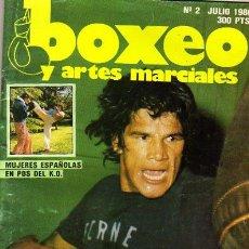 Coleccionismo deportivo: BOXEO Y ARTES MARCIALES. MUJERES ESPAÑOLAS EN POS DEL KO. Nº 2 1986.. Lote 17494003