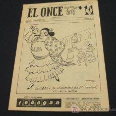 Coleccionismo deportivo: EL ONCE - 22 OCTUBRE 1963 - NUMERO 943. Lote 17856684