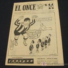 Coleccionismo deportivo: EL ONCE - 8 OCTUBRE 1963 - NUMERO 941. Lote 17856694