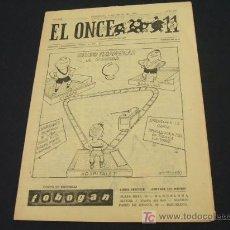 Coleccionismo deportivo: EL ONCE - 9 JULIO 1963 - NUMERO 934. Lote 17856709