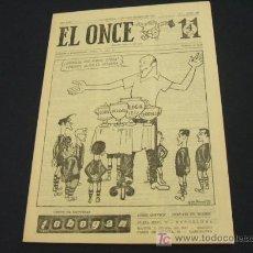 Coleccionismo deportivo: EL ONCE - 3 SEPTIEMBRE 1963 - NUMERO 936. Lote 17856742