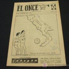 Coleccionismo deportivo: EL ONCE - 16 JUNIO 1.964 - NUMERO 977 - AÑO XX - . Lote 17914639